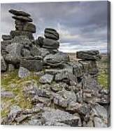 Great Staple Tor Canvas Print