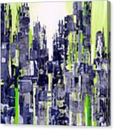 Green City Canvas Print