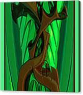 Green Deck 9  Canvas Print