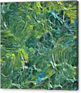 Leaves In The Wind Canvas Print