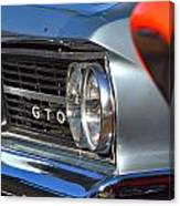 GTO Canvas Print
