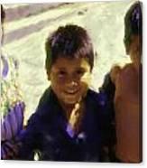 Guatemalan Kids Canvas Print