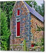 Guernsey Barn Canvas Print