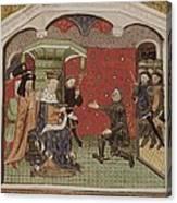 Guesclin, Bertrand Du 1315-1380. French Canvas Print