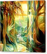 Guiding Path Canvas Print