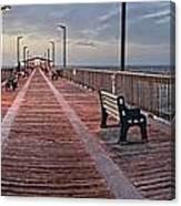 Gulf State Pier Canvas Print