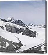 Gulkana Glacier Canvas Print