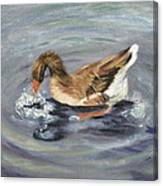 Gus The Goose Canvas Print