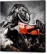 Gwr Steam Train Canvas Print