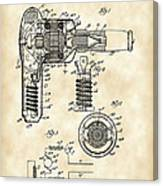 Hair Dryer Patent 1929 - Vintage Canvas Print
