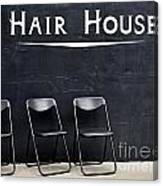 Hair House Canvas Print