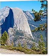 Half Dome From Sentinel Dome Trail In Yosemite Np-ca Canvas Print
