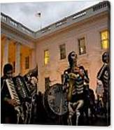 Halloween At The White House Canvas Print