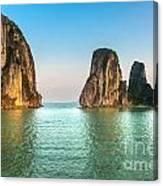 Halong Bay -vietnam Canvas Print
