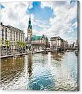 Hamburg Canvas Print