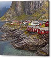 Hamnoy Rorbu Village Canvas Print
