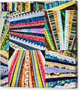 Hand Made Quilt Canvas Print