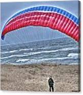 Hang Glider 2 Canvas Print