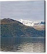 Hanging Glaciers And Chugach Mountiains Canvas Print