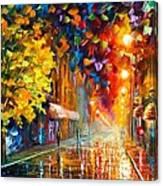 Happy Street Canvas Print
