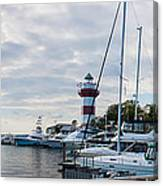 Harbourtown Harbor Canvas Print