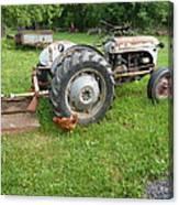 Hard Days Work Farm Tractor Canvas Print