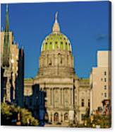Harrisburg, Pennsylvania, City Skyline Canvas Print