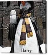 Harry Christmas Canvas Print