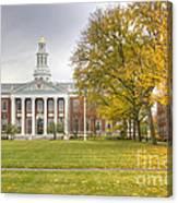 Harvard University Canvas Print