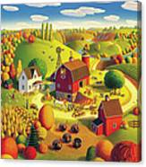 Harvest Bounty Canvas Print