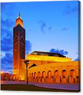 Hassan II Mosque In Casablanca Canvas Print