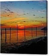 Haverstraw Bay Sunrise Canvas Print