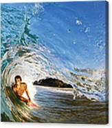 Makena Boogie Boarder Canvas Print