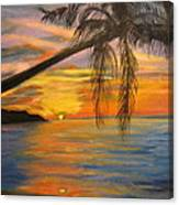 Hawaiian Sunset 11 Canvas Print