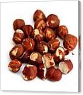 Hazelnuts Canvas Print