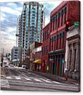 Street Photography Nashville Tn Canvas Print