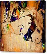 Heath Ledger The Joker Collection Canvas Print