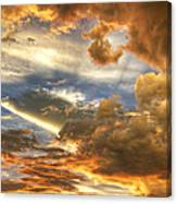 Heavenly Skies  Canvas Print