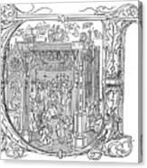 Henry Viii (1491-1547) Canvas Print