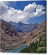 Himalayan Scenery... Canvas Print