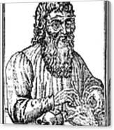 Hippocrates (c460-c377 B.c.) Canvas Print