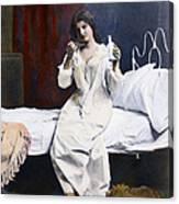Home Medicine, 1901 Canvas Print