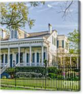 Home On St. Charles Ave - Nola Canvas Print