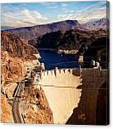 Hoover Dam Nevada Canvas Print