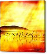 Hope On A Wing And A Prayer Canvas Print