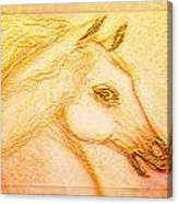 Horse Of The Sun Canvas Print