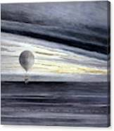Hot Air Balloon, 1875 Canvas Print