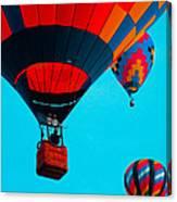 Hot Air Balloon Flight Canvas Print