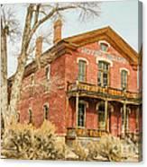 Hotel Meade Canvas Print