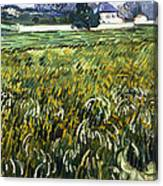 House At Auvers Canvas Print